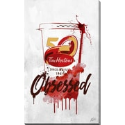 PicturePerfectInternational 'Drink Tim Hortons' by PPI Studio Graphic Art on Wrapped Canvas