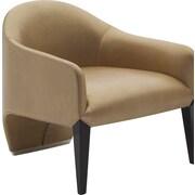 Argo Furniture Murcia Dinella Lounge Chair; Leather Champagne