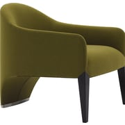 Argo Furniture Murcia Dinella Lounge Chair; Fabric Moss Green