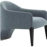 Argo Furniture Murcia Dinella Lounge Chair; Fabric Neutral Grey