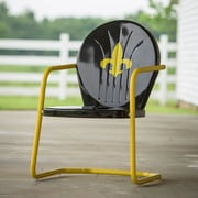 LeighCountry Fleur De Lis Retro Chair