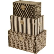WaldImports 3 Piece Decorative Box Set