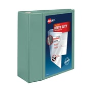 "5"" Avery® Heavy-Duty View Binders with One Touch™ EZD® Rings, Sea Green"
