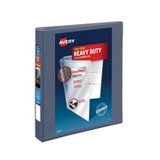 "1"" Avery® Heavy-Duty View Binders with One Touch™ EZD® Rings, Purple"
