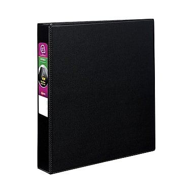 Avery Durable 1.5-Inch Slant D 3-Ring Binder, Black (27350)