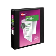 "1-1/2"" Avery® Durable View Binder with EZD Rings, Black"