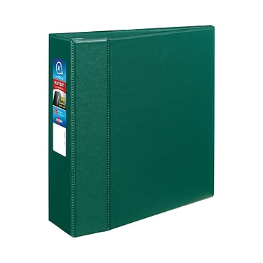Avery Heavy-Duty 4-Inch D 3-Ring Binder, Green (79-784)