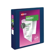 Avery Durable 1.5-Inch Slant 3-Ring View Binder, Multiple Colors (17024)