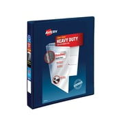 "Avery® 1"" Heavy-Duty View Binder with One Touch EZD® Rings, Navy Blue (79809)"