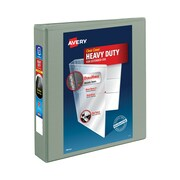 """1-1/2"""" Avery® Heavy-Duty View Binder with One Touch Slant-D™ Rings, Light Grey"""