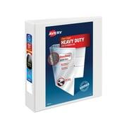 Avery Heavy-Duty 2-Inch Slant D 3-Ring View Binder, White (5504)
