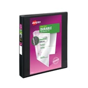 "1"" Avery® Durable View Binder with EZD Rings, Black"