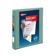 """1"""" Avery® Heavy-Duty View Binders with One Touch™ EZD® Rings, Sea Green"""