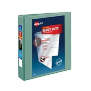 "1-1/2"" Avery® Heavy-Duty View Binder with One Touch™ EZD® Rings, Sea Green"