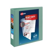 """2"""" Avery® Heavy-Duty View Binders with One Touch™ EZD® Rings, Sea Green"""
