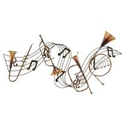 Cole & Grey Waterfront Musical Instrument Wall D cor