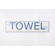 Adams & Co Hang Your Towel Hook Board Wall D cor