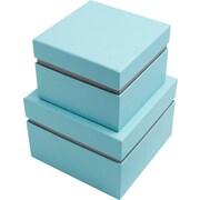 Bigso Alva 2 Piece Floating Box; Blue/Grey