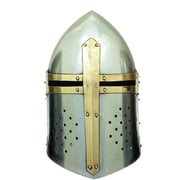 Cole & Grey Decorative Metal Crusader Helmet