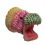 Arcadia Home Decorative Hippo Head Statue