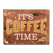 AdecoTrading ''It's Coffee Time'' Wall Decor