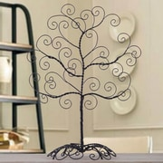 AdecoTrading Twisted Iron Tree Self Standing Scroll Design Picture Frame