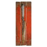 American Mercantile Knife Print Wood Sign Wall Decor