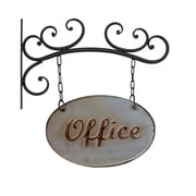American Mercantile Metal Office Sign Wall Decor