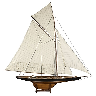 Authentic Models 1901 Large America's Cup Columbia Model Boat WYF078280004003