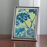 Charlton Home Lucie Delicate Beading Picture Frame in Silver; 4'' x 6''
