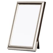 Charlton Home Lucie Delicate Beading Picture Frame in Silver; 5'' x 7''