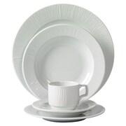 Mitterteich Emotion Embossed Porcelain 20 Piece Dinnerware Set