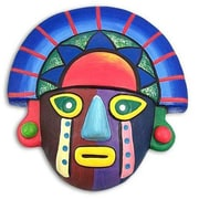 Novica Sunset Colors Mask Wall D cor