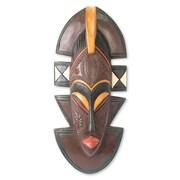 Novica Ali Mohammed Original African Wood Mask Wall Decor