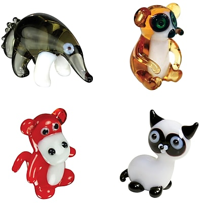 Looking Glass Figurines 4 Piece Miniature AntEater,
