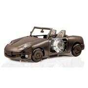 MatashiCrystal Charcoal Metal Plated Model Car