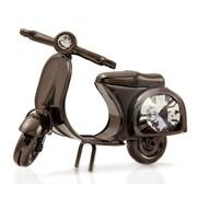 MatashiCrystal Charcoal Metal Plated Scooter