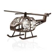 MatashiCrystal Charcoal Metal Plated Model Helicopter