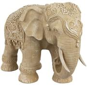Oriental Furniture Standing Elephant Figurine