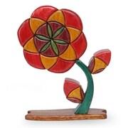 Novica Flower Of Life Ishpingo Wood Sculpture