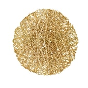 Global Views Wired Disc Wall Decor; Small