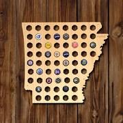 Home Wet Bar Arkansas Beer Cap Map Wall D cor