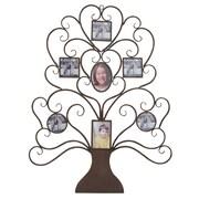 EC World Imports Family Tree Photo Frame Large 40'' Metal Art Wall Decor