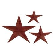 EC World Imports 3 Piece Celestial Grande Stars Metal Wall Decor Set