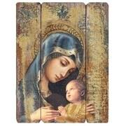 Roman, Inc. Madonna And Child Panel Wall D cor