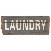 M Home Decor Rustic Laundry Wood Sign Wall Decor