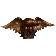 Hickory Manor House Eagle Carving Wall D cor