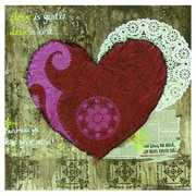 Kings Wood Art 'The Love Poem' Graphic Art on Canvas; 32'' H x 32'' W x 1.5'' D