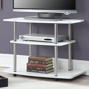 Home Loft Concepts Calvin TV Stand; White