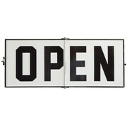 Creative Co-Op Enameled Open/Closed Sign Adjustable Wall D cor